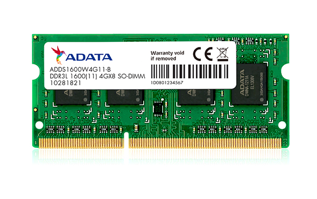 ADDS1600W8G11-S [SODIMM DDR3L PC3L-12800 8GB] バルク