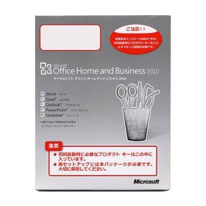 Office Home and Business 2010 (DSP/OEM) /中古