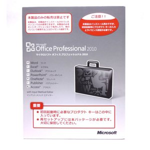 Office Professional 2010 (DSP/OEM) /中古