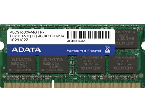 ADDS1600W4G11-R [SODIMM DDR3L PC3L-12800 4GB]