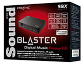 USB Sound Blaster Digital Music Premium HD r2 SB-DM-PHDR2