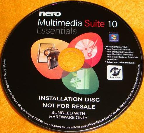 NERO Multimedia Suite 10 OEM