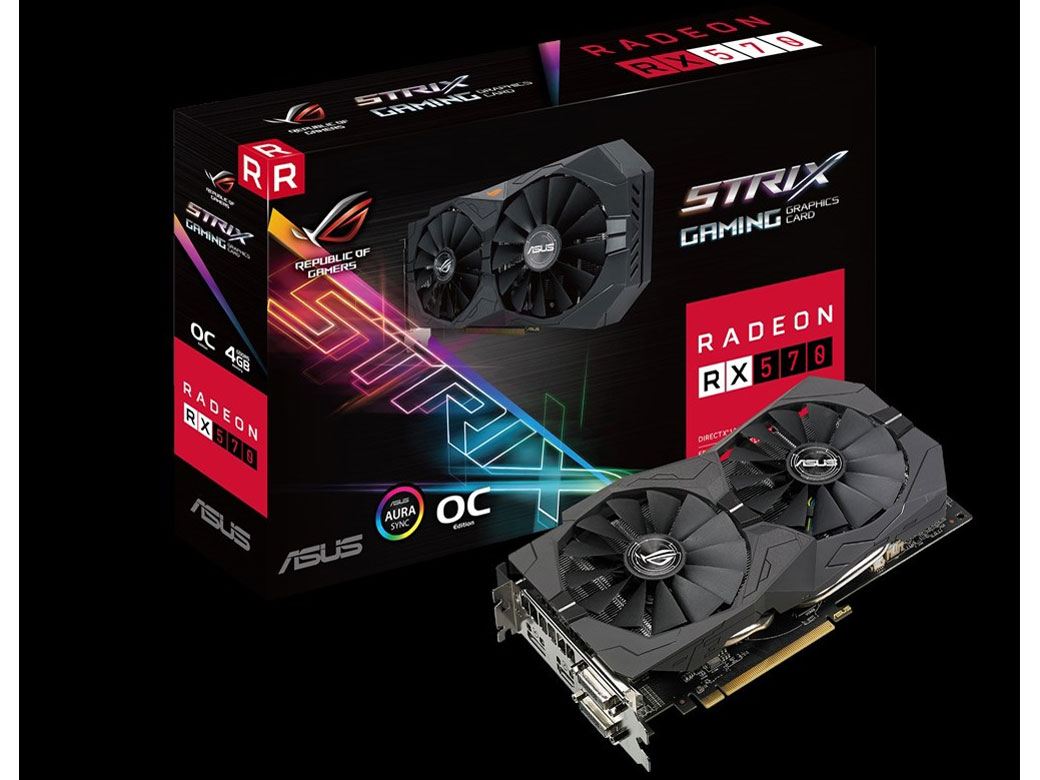 ROG-STRIX-RX570-O4G-GAMING [PCIExp 4GB]