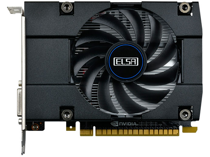 ELSA GeForce GTX 1050 Ti 4GB S.A.C GD1050-4GEBST [PCIExp 4GB] /バルク