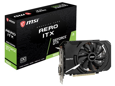 GeForce GTX 1660 AERO ITX 6G OC [PCIExp 6GB]